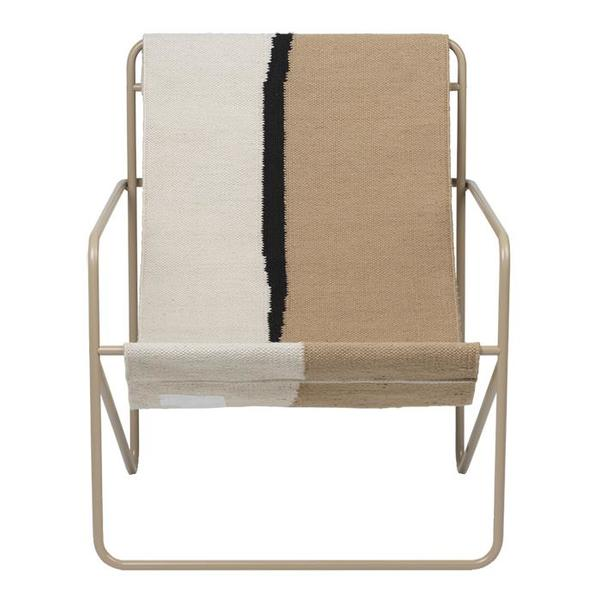 Ferm Living Desert Lounge Chair - Cashmere Beige