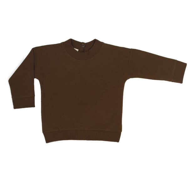 Baby Sweater - Moss