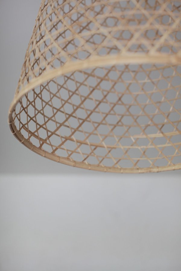 nomad collective Woven Pendant Shade - natural