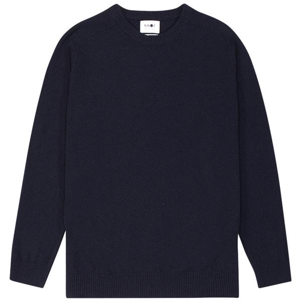NN07 Edward Sweater - Navy Blue