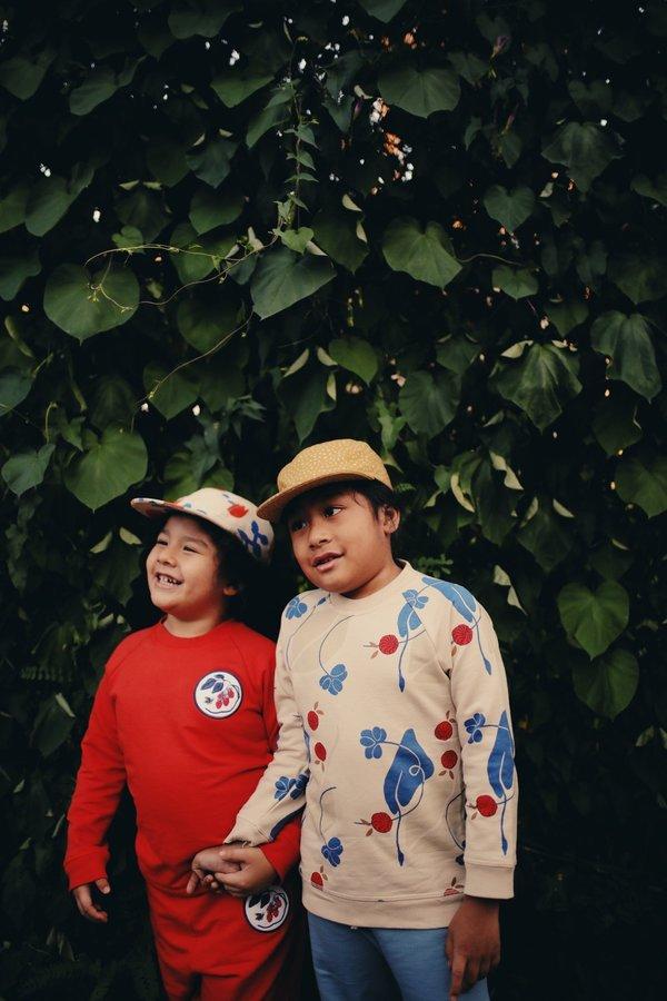 Kid Granelito Organic Pima Cotton Sweatshirt - Lucky
