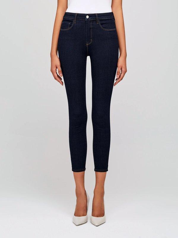 L'agence Margot Ankle HR Skinny Jean - Midnight