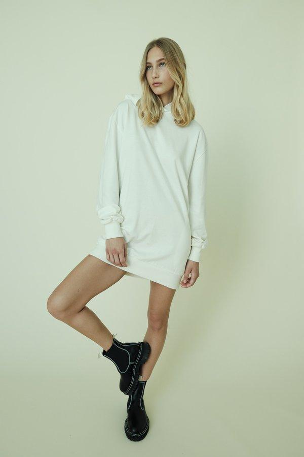 Parentezi French Terry Hoodie Mini Dress