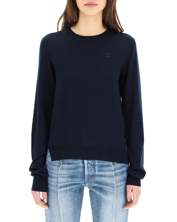 MM6 Maison Margiela Sweater with Embroidery