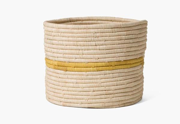 Kazi Goods Sun + Natural Storage Basket