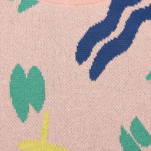 kids Bobo Choses Strokes Pattern Sweater - Pink