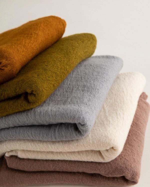 Scarf Shop Wool Cloud scarf - Rosewood