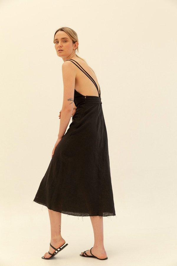 Muse the Label Cora Dress - Black