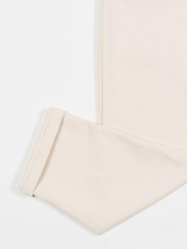 Whim Golf Shashiko Trouser - Cream