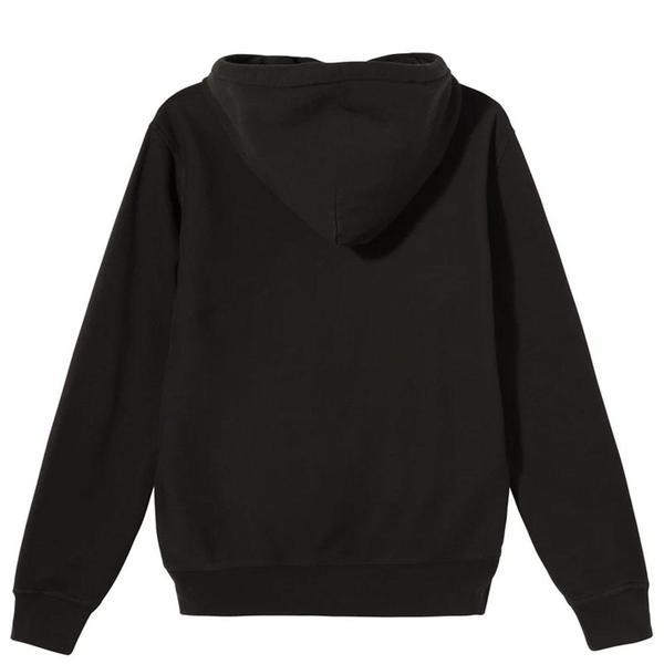 Stussy Stock Logo Hood sweater - Black