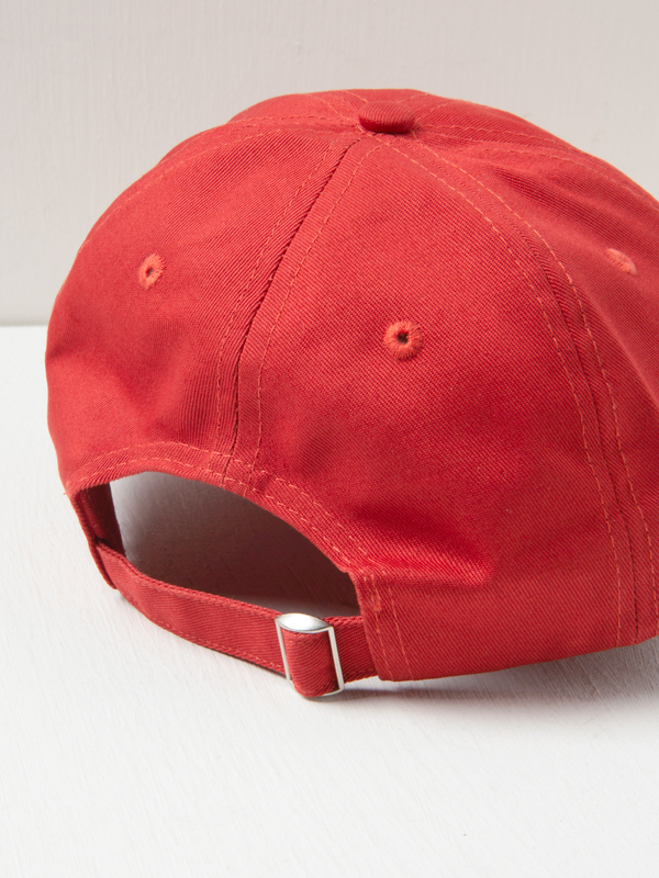 Sporty & Rich S/R Sports Hat - Cherry/White/Gold
