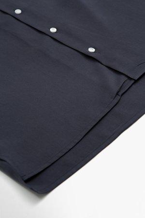 Libertine Libertine Cave S/S shirt top - dark navy II