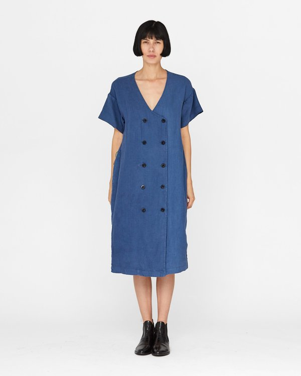 [Pre-loved] Esby Harlow Dress - Denim Blue