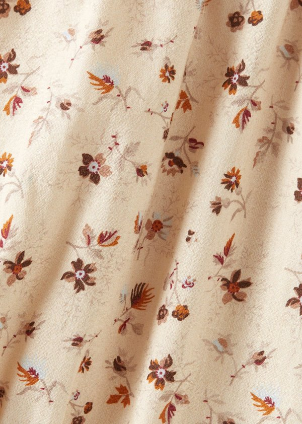 Kids Caramel Anemone Jumpsuit - Ditsy Floral Print