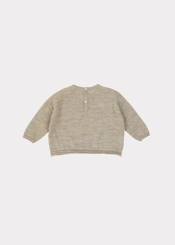 Caramel Cuttlefish Baby Jumper sweater - Taupe