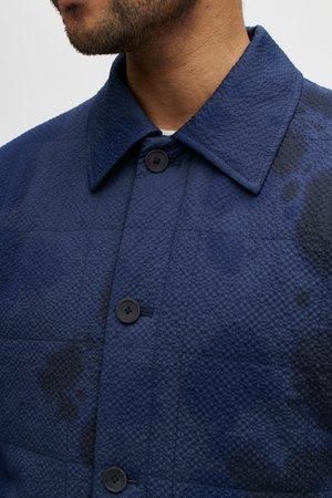 A Kind of Guise Oulu jacket - inked dyed navy