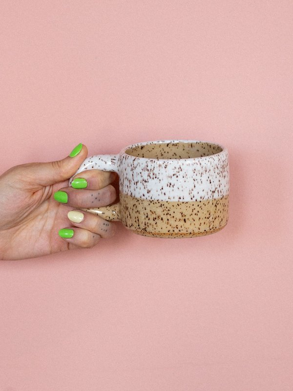 Emi Ceramics Half Dipped Mug