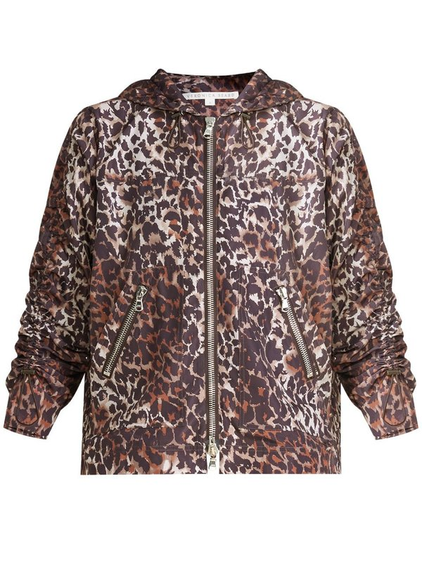 Veronica Beard Sibila Anorak jacket - Brown Multi