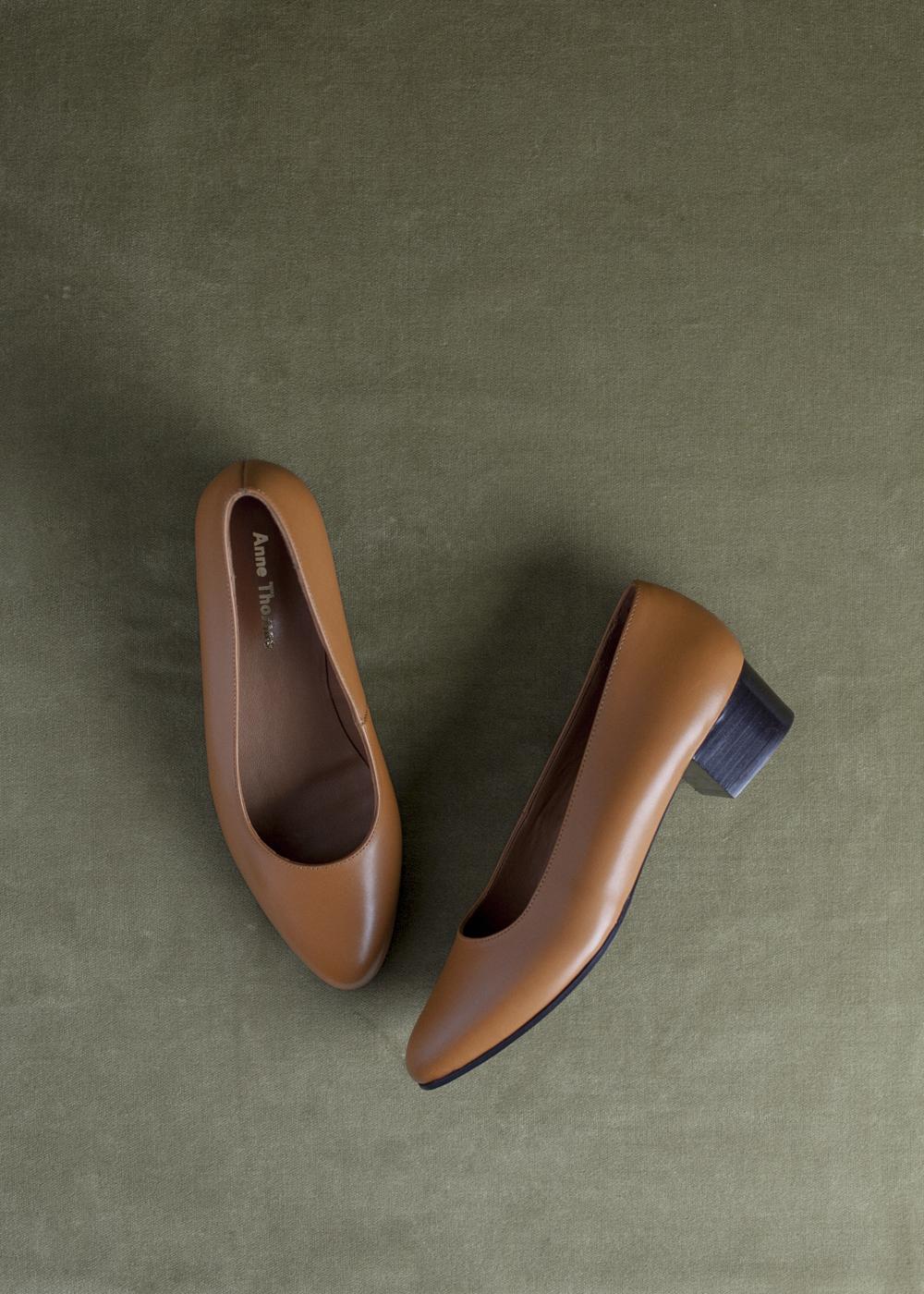 Anne Thomas Michele Shoe Tan Garmentory