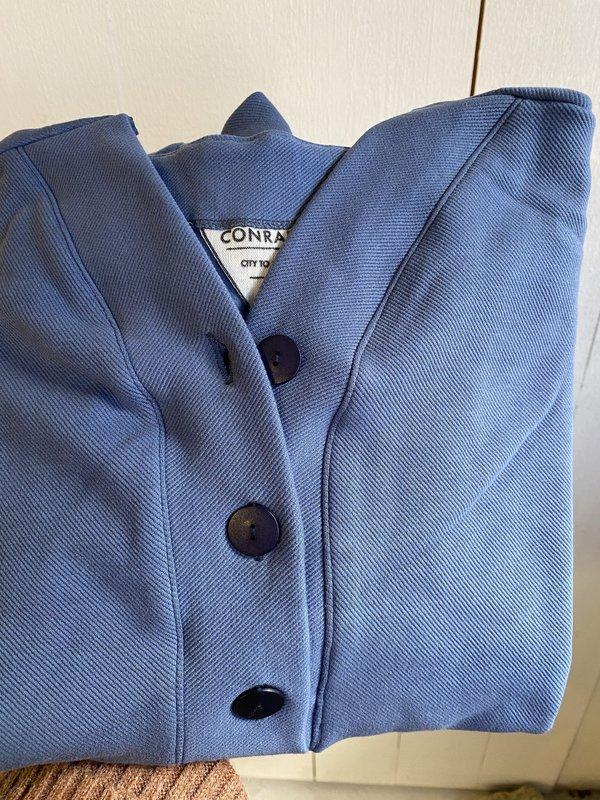 Conrado Storm Henley Sweatshirt - Blue