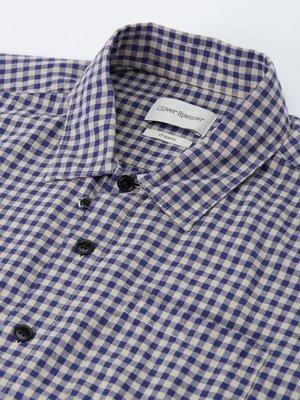 Oliver Spencer Hawaiian Shirt - Philis Blue