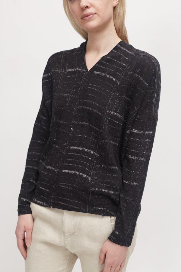 Pas de Calais Cotton Pullover - Black