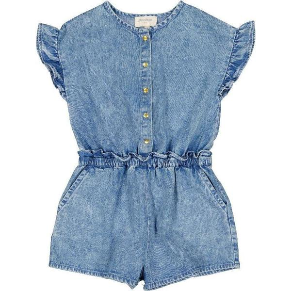 kids louis louise armance overall - chambray