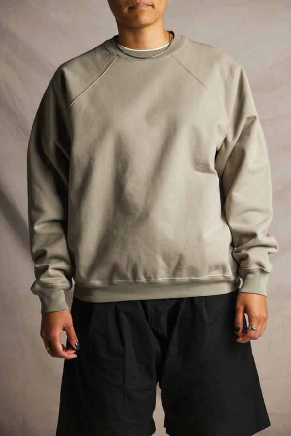 Lady White Co. Heavyweight Raglan Sweatshirt - Taupe