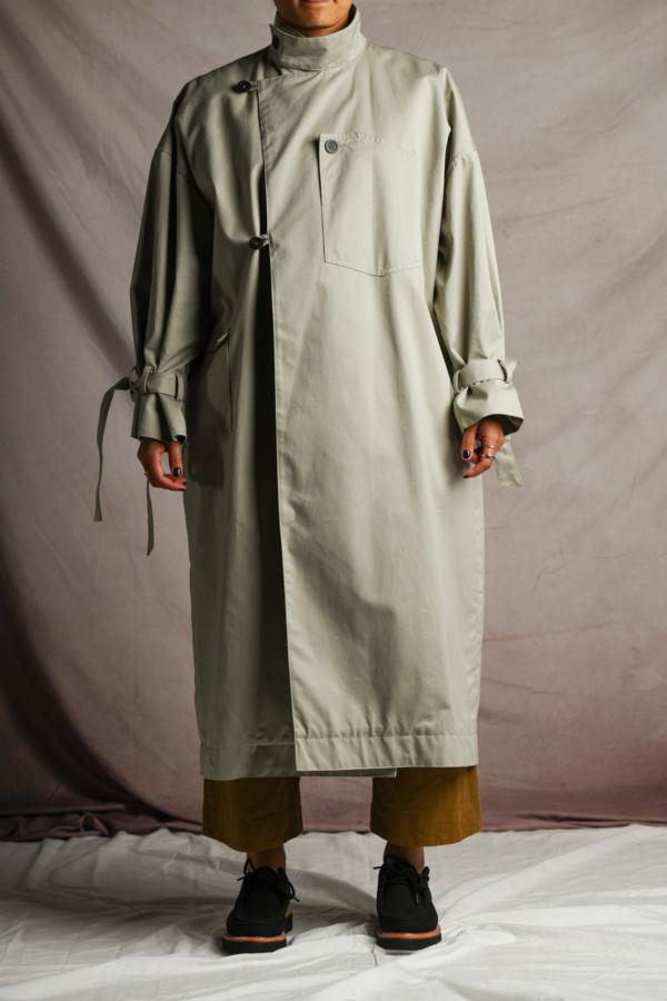 Xenia Telunts Ventile Canvas Coat