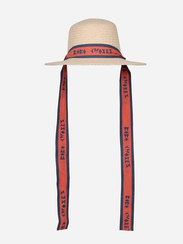kids Bobo Choses Ribbon Kid's Hat - natural