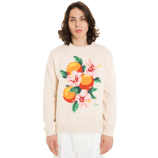 CASABLANCA Kapalia Oranges Intarsia sweater - Multicolor