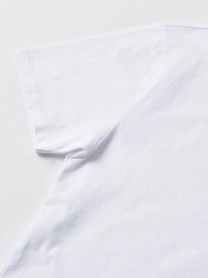 Maison Kitsuné WOMEN FOX HEAD PATCH CLASSIC TEE-SHIRT - WHITE