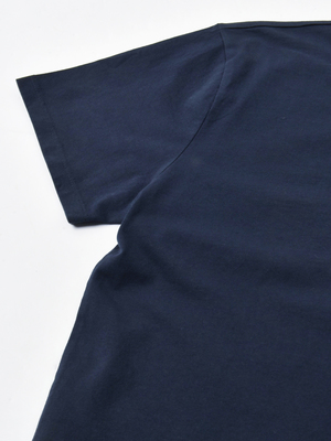 Maison Kitsuné WOMEN FOX HEAD PATCH CLASSIC TEE-SHIRT - NAVY