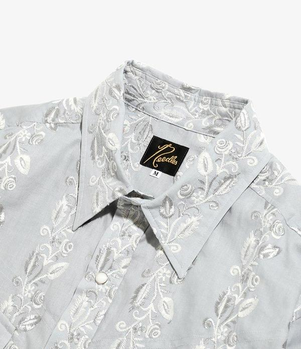 Needles Cowboy Shirt top - Flower Embroidery