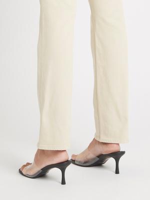 J Brand Teagan High Rise Slim Straight Jean - Ayekroo