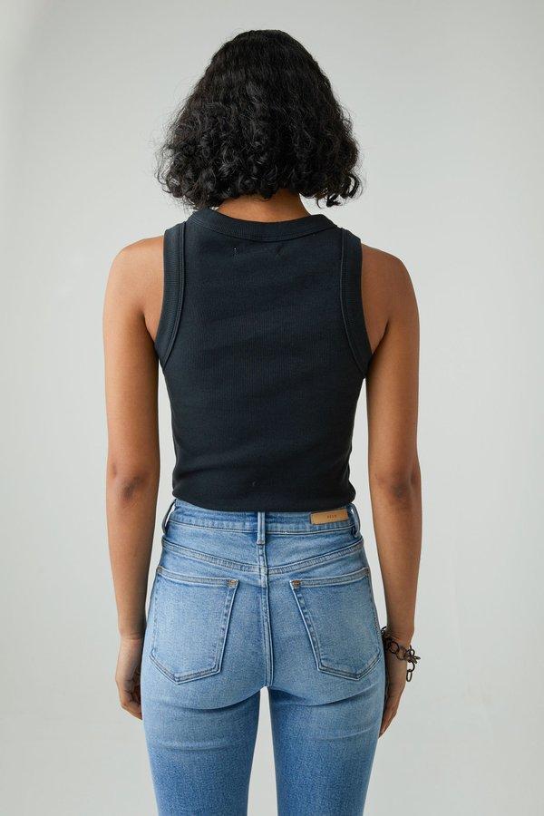 NEUW Jonesy Singlet top - Black