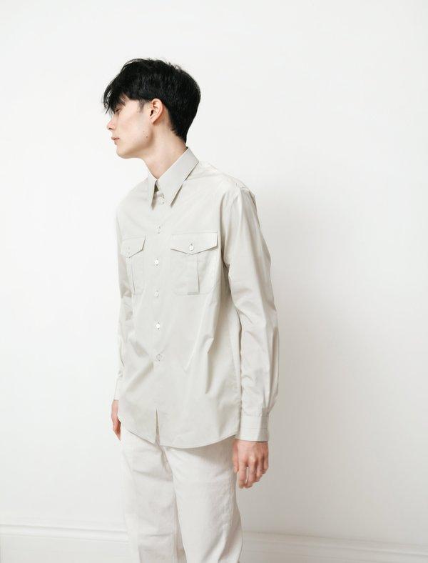 Lemaire Military Shirt - Light Sage