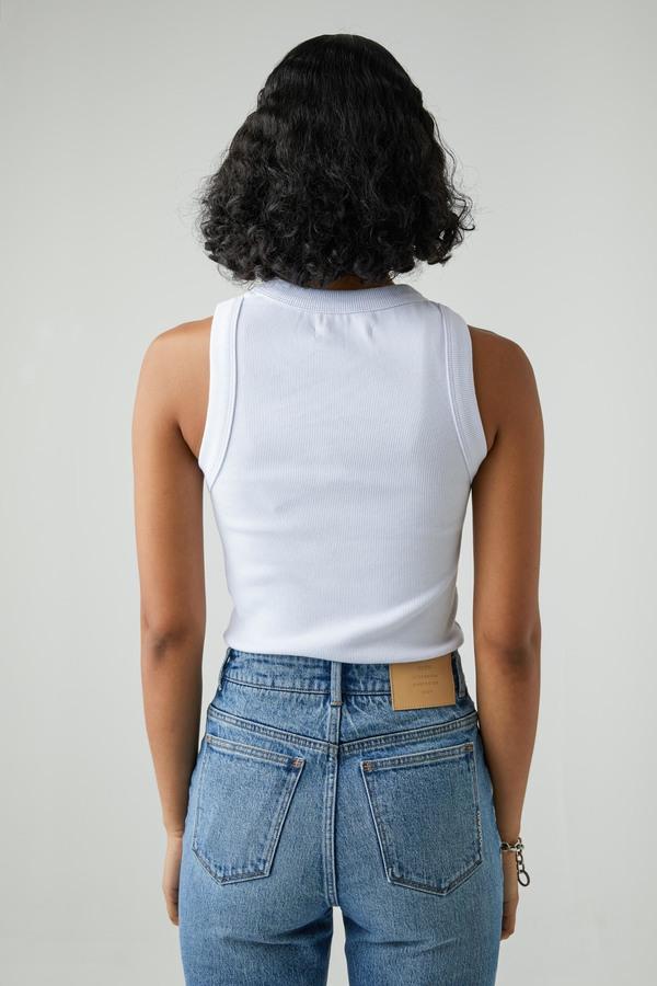NEUW Jonesy Singlet top - White