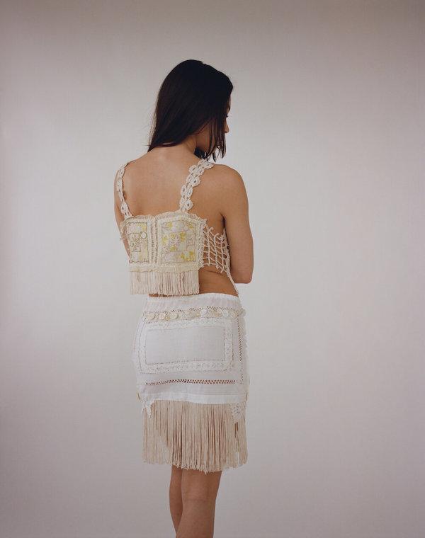 Sydney Pimbley Pastel Doily Skirt