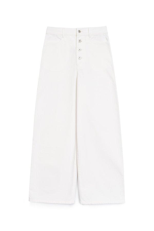 Kowtow Sailor Jeans - ecru-denim