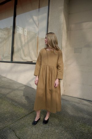 A Mente Loose Fit Dress - Neutral