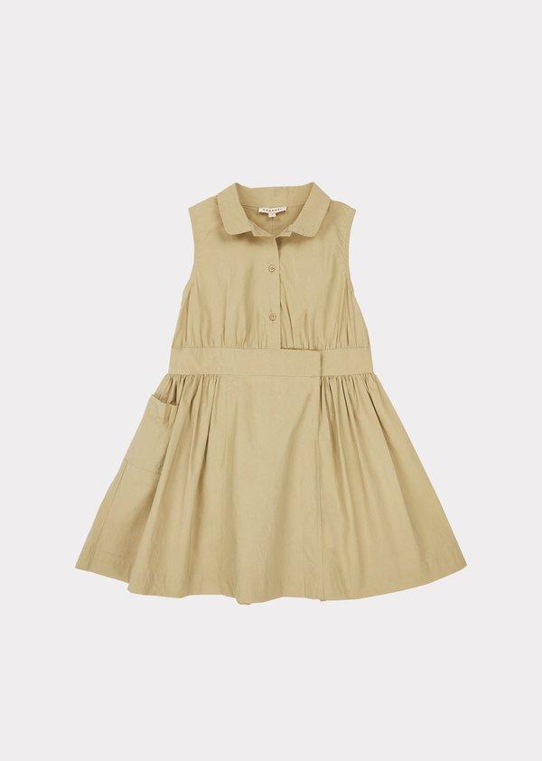 Kids Caramel Penguin Dress - Taupe