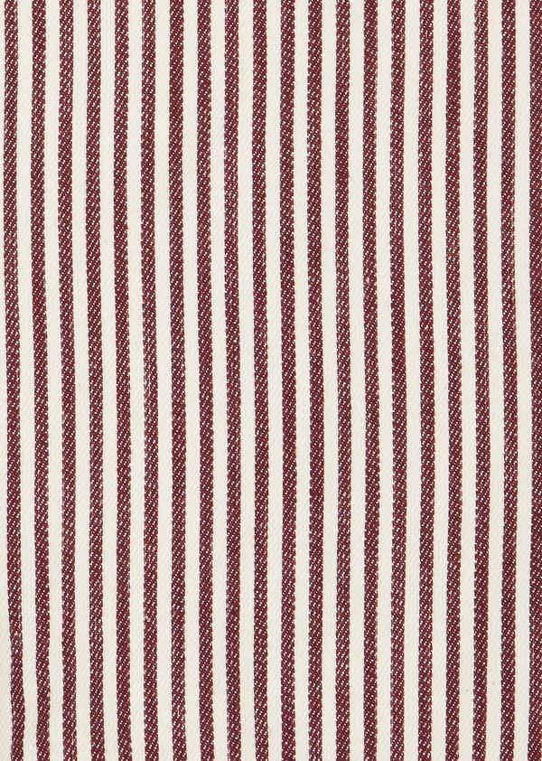 kids Caramel Seal Dungaree - Brown Stripe