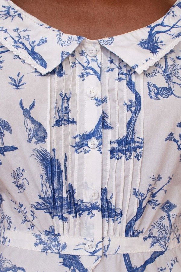 Meadows Mallow Shirt - Toile De Jouy
