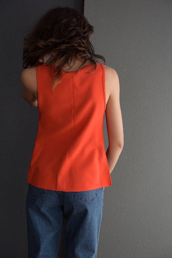 Rachel Comey Bite Top - Orange