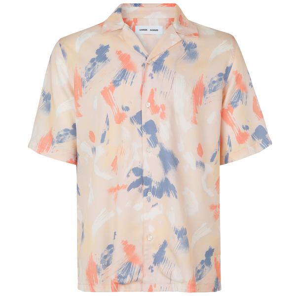 Samsoe Samsoe oscar ax shirt aop - Humus Brush