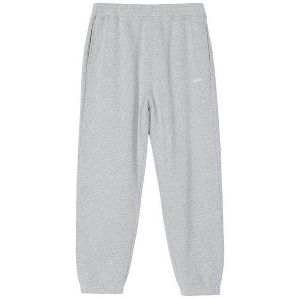Stüssy stock logo pants - Grey Heather