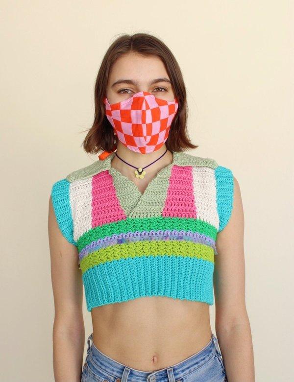 Tyler McGillivary Rachel Witus Patchwork Masks