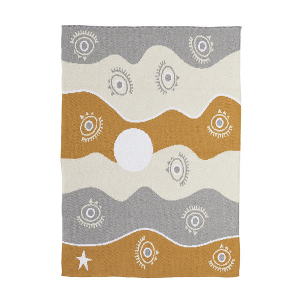 kids moon babe blankets All Eyes Blanket - Day