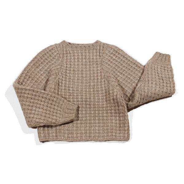 Shaina Mote Andes Sweater - Beige Melange